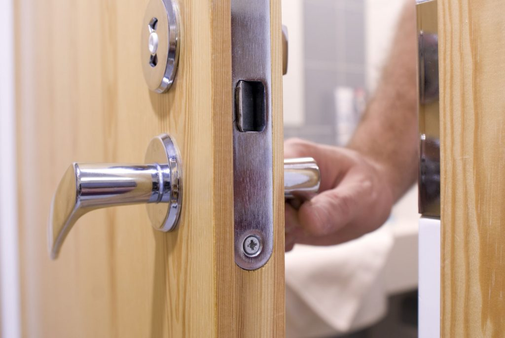 bathroom security locks