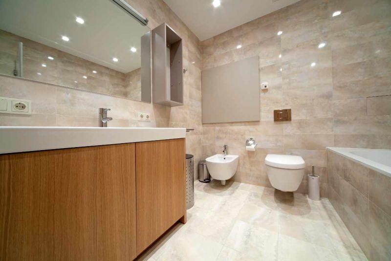 LED downlights bathroom